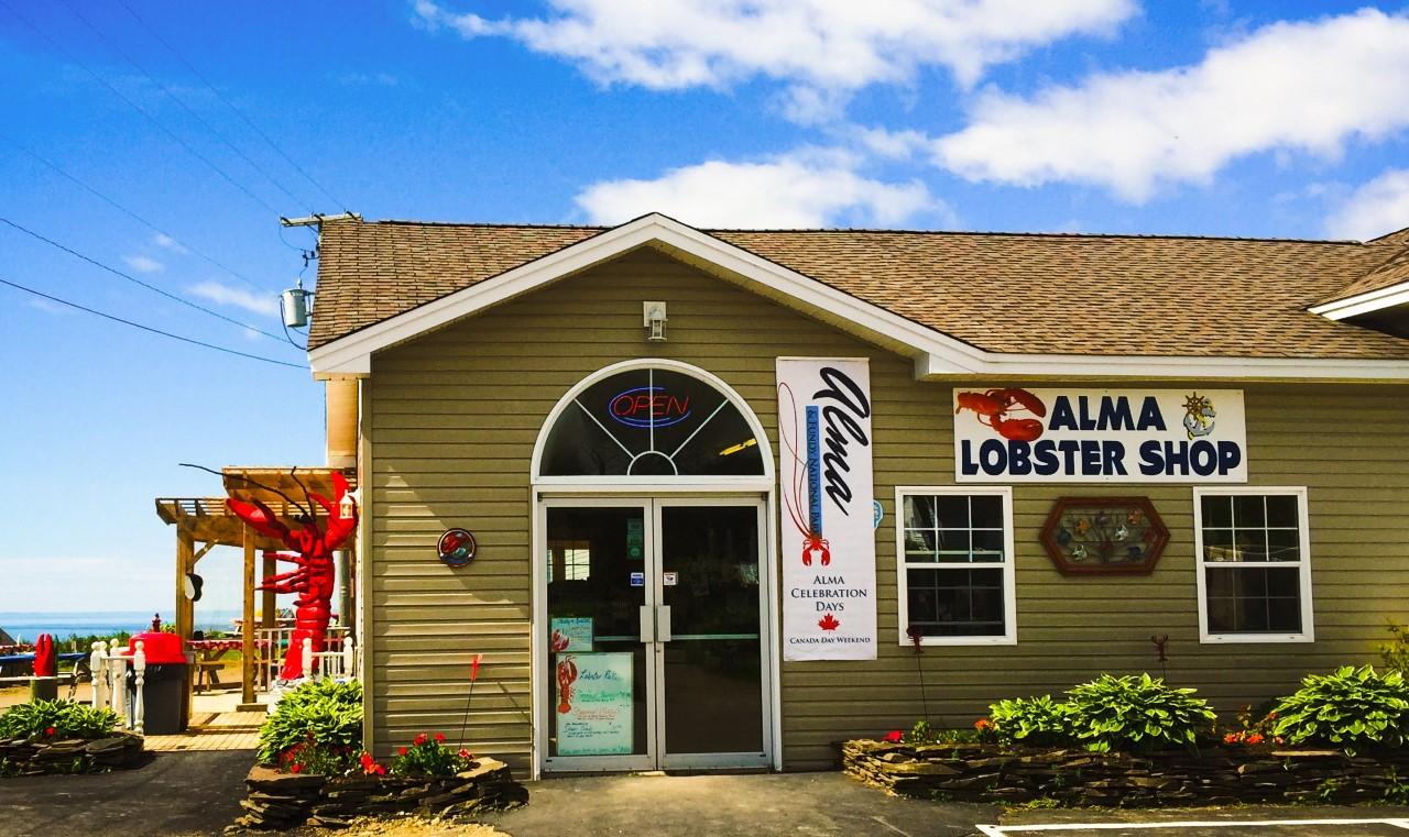 Alma Lobster Shop / #ExploreNB ...