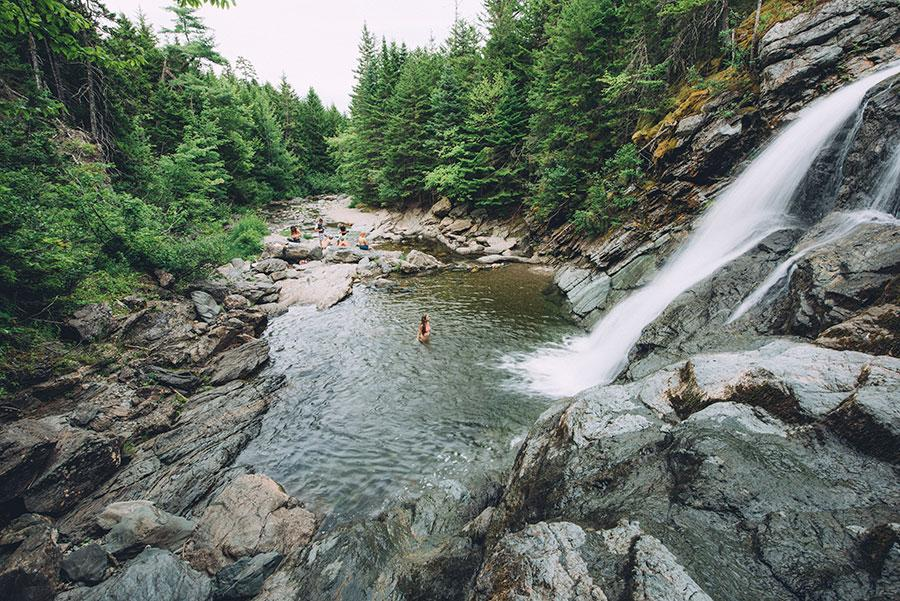 Laverty Falls, Fundy National Park