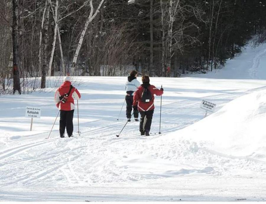 A cross-country ski paradise at the Kahoutex Cross-Country Ski Club