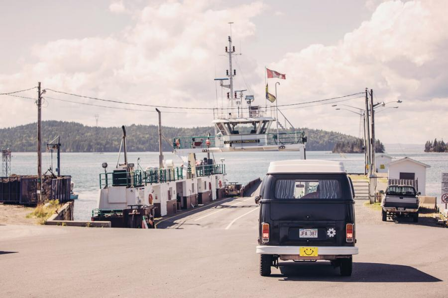 Exploring the Fundy Isles by camper van