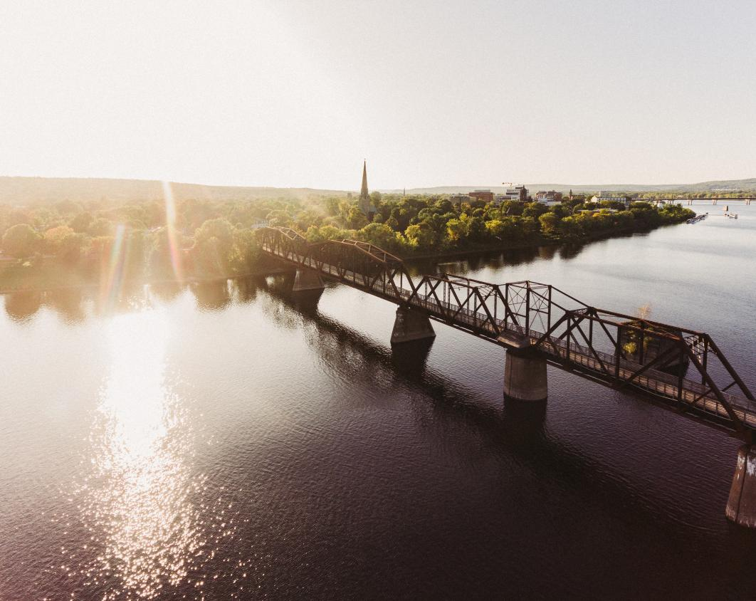 City of Fredericton Aerial