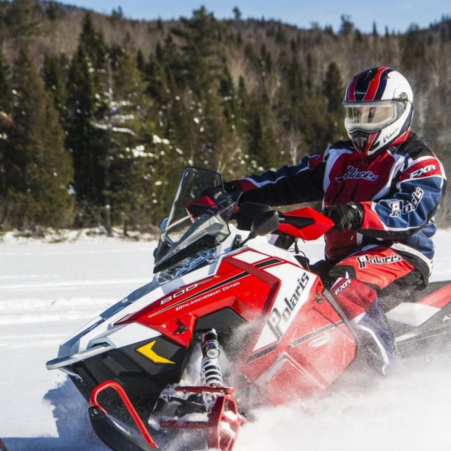 snowmobile_mtcarleton_nictau_lake - New Brunswick Canada