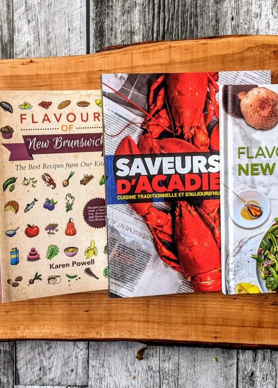 New Brunswick Cookbooks